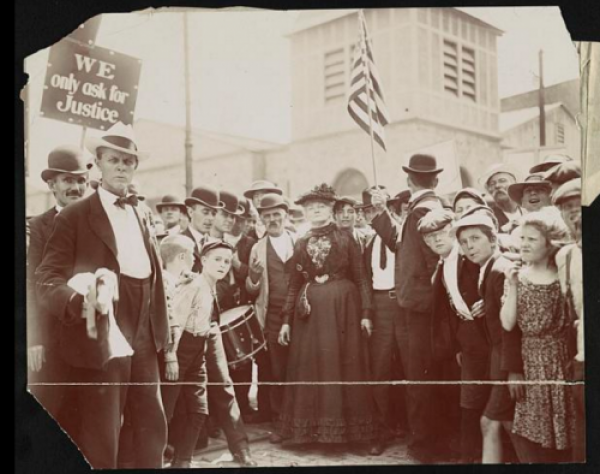 Mother Jones March of the Mill Children, 1903.png