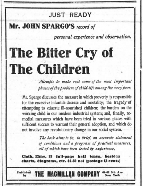 Bitter Cry of Children, Spargo, NYT, Feb 17, 1906.png