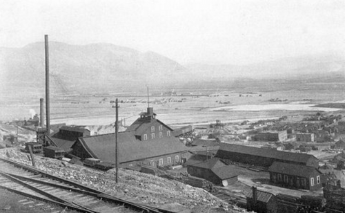 Butte, Montana, Pennsylvania Mine, ab 1900, Disaster of Feb 14, 1916.png