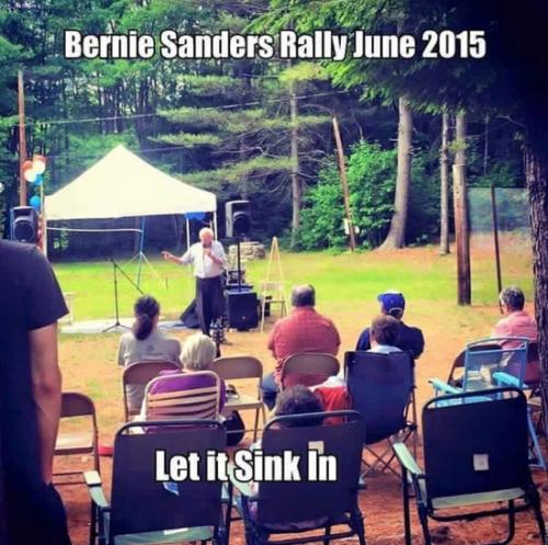 Sanders humble beginnings