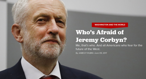 Jeremy Corbyn is a scary, scary man! | caucus99percent