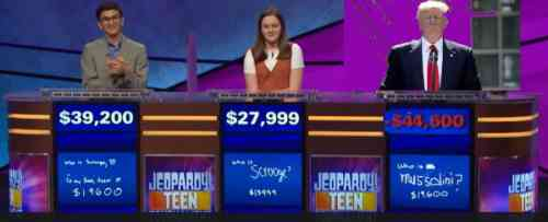 Image: On Jeopardy facts win; The Paragraph